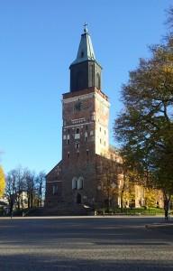 Bild på Åbo domkyrka